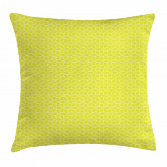 Abstract Juicy Lemons Pillow Cover