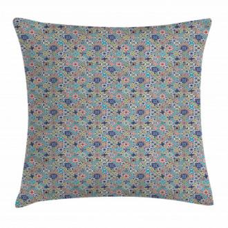 Patchwork Mosaic Tiles Pillow Cover