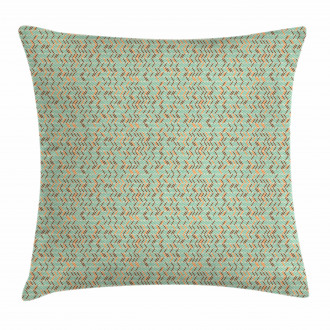 Ethnic Zigzag Pattern Pillow Cover