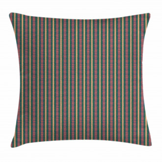 Brush Stroke Effect Pillow Cover
