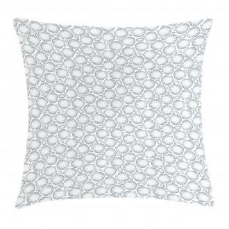 Pointilist Scallops Pillow Cover