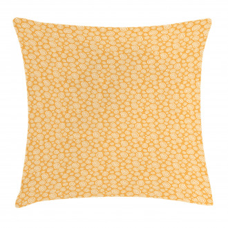 Moon Snails and Bubbles Pillow Cover