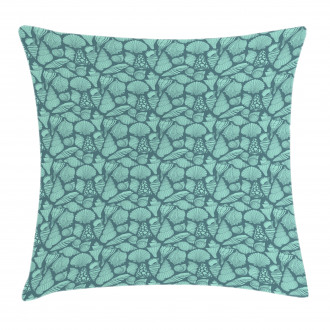 Marine Concept Elements Pillow Cover
