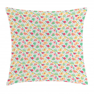 Pre-School Theme Turtles Pillow Cover