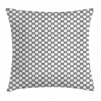 Curved Lines Mosaic Pillow Cover