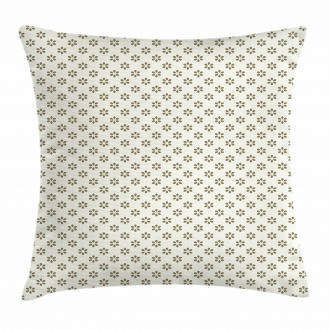 Abstract Stylized Flower Pillow Cover