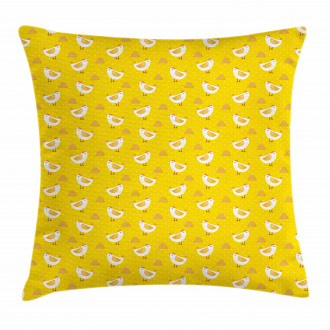 Dots Chicken Haystack Pillow Cover
