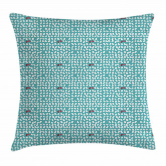Snippet Connivent Sparrow Pillow Cover