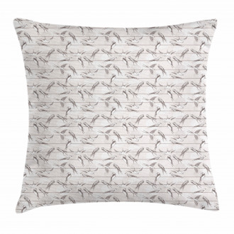 Red-Rumped Swallow Bird Pillow Cover