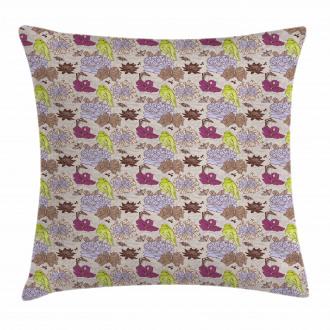 Papillon Butterflies Pillow Cover
