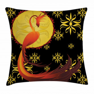 Phoenix and Foolmoon Pillow Cover