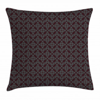 Abstract Baroque Pillow Cover