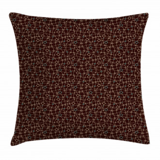 Mesh Circles Pillow Cover