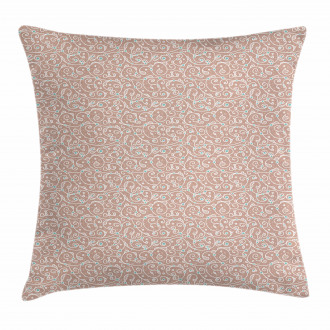 Ottoman Curls and Dots Pillow Cover