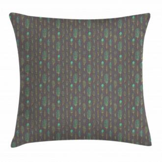 Boho Ethnic Sketch Art Pillow Cover