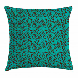 Abstract Tile Pillow Cover