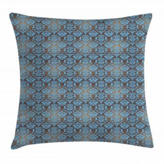 Damask Motifs Pillow Cover