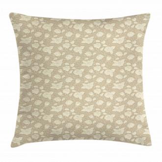 Flourish Rose Petal Pillow Cover