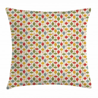 Vintage Party Print Pillow Cover