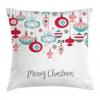 Noel Season Elements Pillow Cover