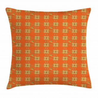 Eastern Abstract Pillow Cover