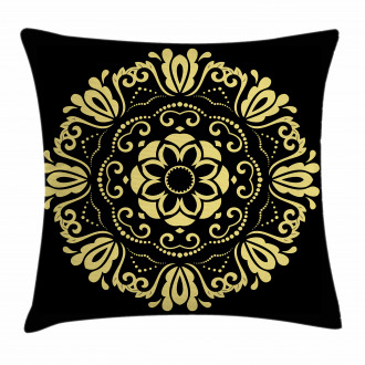 Stylized Frame Pillow Cover