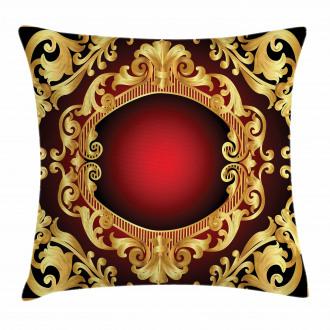 Frame Baroque Pillow Cover