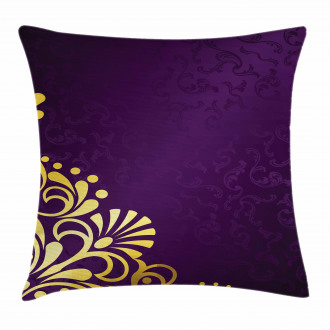 Curvy Ornament Pillow Cover