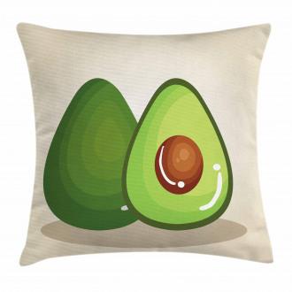 Organic Freshness Theme Pillow Cover
