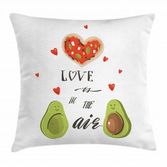 Valentine Fruit Couple Pillow Cover