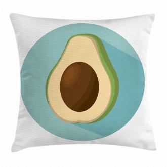 Raw Delicious Avocado Pillow Cover
