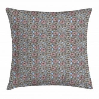 Botanical Garden Design Pillow Cover