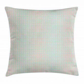 Chevron Zigzags Motif Pillow Cover