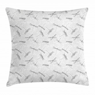 Foliage Leaves Spring Pillow Cover
