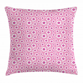 Petals with Bugs Pillow Cover