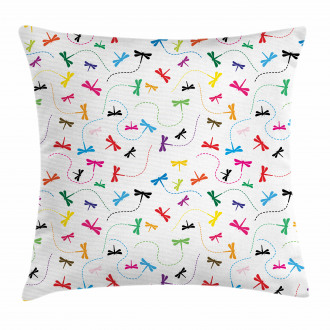Spring Wildlife Motif Pillow Cover