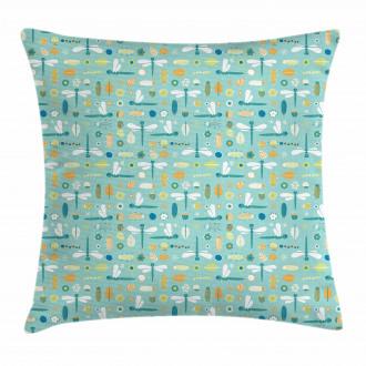 Nursery Style Cartoon Pillow Cover