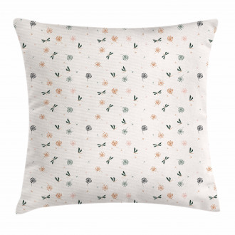 Bugs and Dandelions Pillow Cover