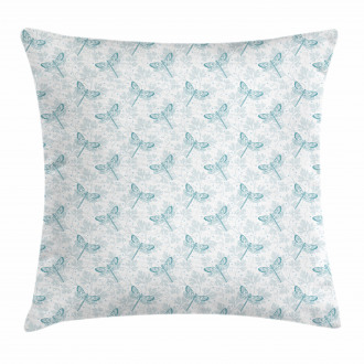 Parsley Leaves Bugs Pillow Cover