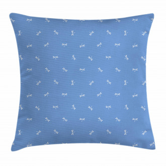 Oriental Dragonfly Pillow Cover