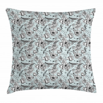 Bugs and Daises Pillow Cover
