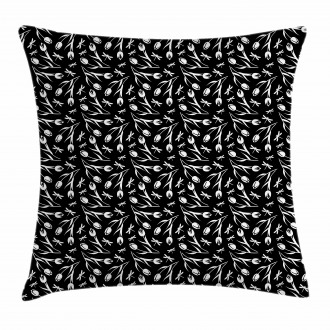 Dragonfly Tulip Pillow Cover