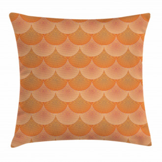 Optic Circles Graphic Pillow Cover