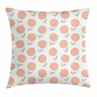 Pastel Floral Spring Pillow Cover