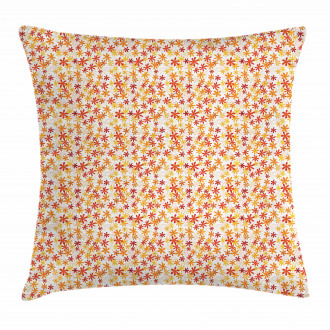Fall Nature Blossoms Pillow Cover