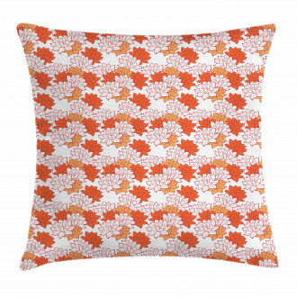Lily Zen Garden Pillow Cover