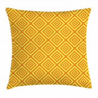 Rhombus Grid Pillow Cover