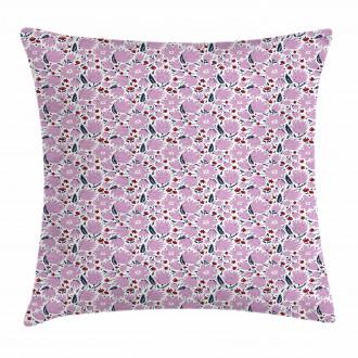 Garden Art Pattern Pillow Cover