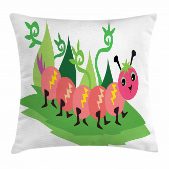 Strolling Animal Pillow Cover