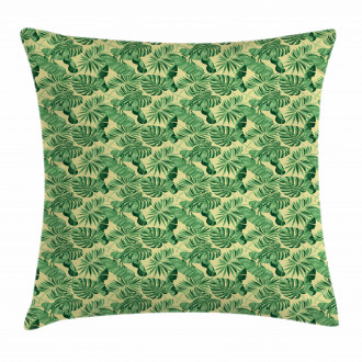 Brazil Forest Foliage Pillow Cover